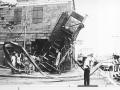 Dégâts causés par le cyclone Claudette en 1979 (© GIS)