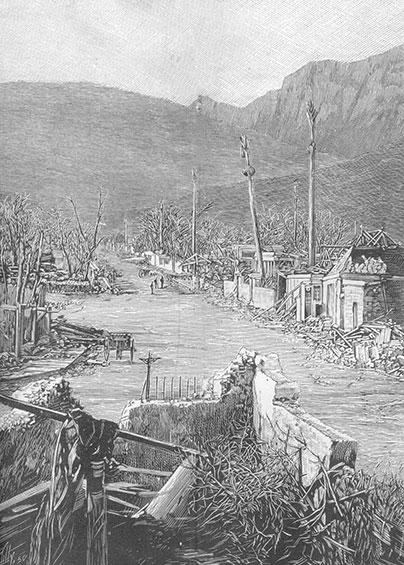 cyclone de 1892 rue Wellington